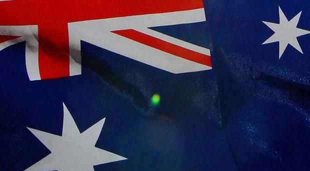 The Australian government said it was informed about the arrest in February 2010 through intelligence channels