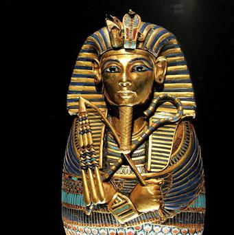 The canopic coffinette of Tutankhamun was found in his tomb 90 years ago