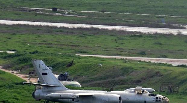 Scores have died in the battle for Nairab air base (AP/Aleppo Media Centre AMC)