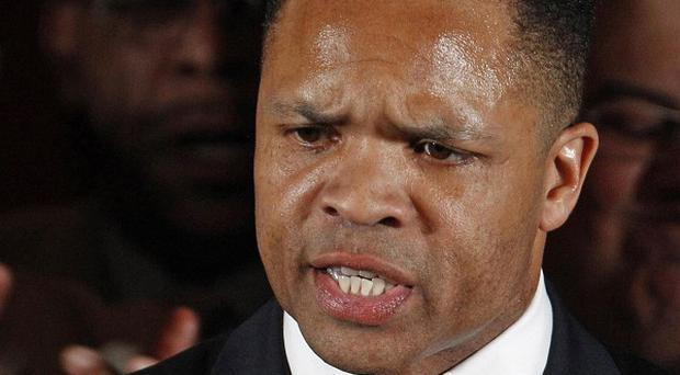 Jesse Jackson Jr is accused of one charge of conspiracy (AP)
