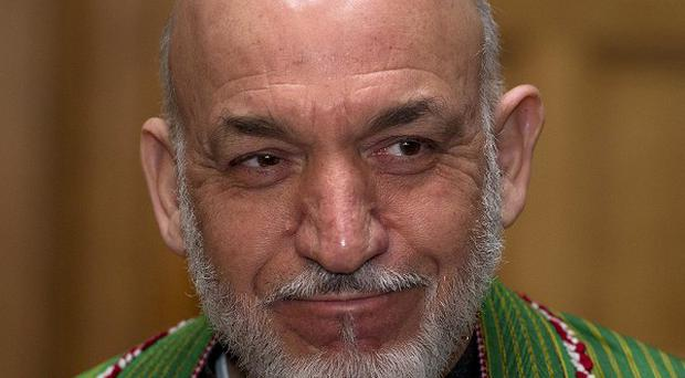 President Karzai decided on the ban after Afghan security services asked the US military for an airstrike during a joint operation last week