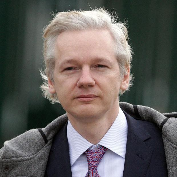 Julian Assange was granted asylum in the Ecuadorian Embassy in London in June