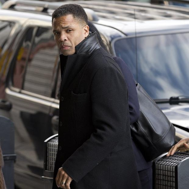 Jesse Jackson Jr. arriving at court in Washington (AP)