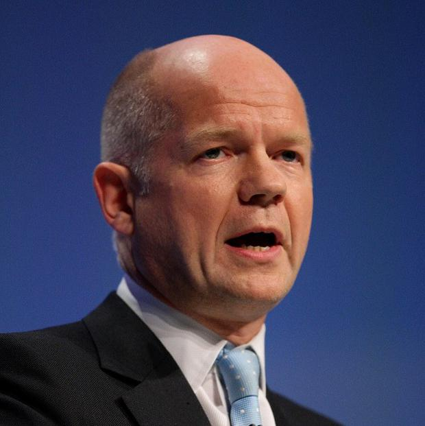William Hague is to hold talks with US secretary of state John Kerry next week