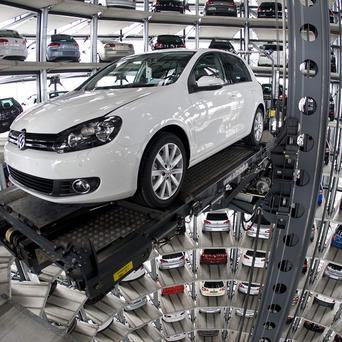 Volkswagen has reported a 41 per cent surge in profits for 2012 (AP)