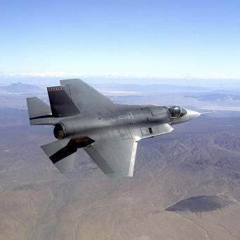 The Pentagon's fleet of F-35 fighter jets has been grounded after the discovery a cracked engine blade