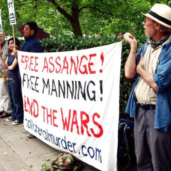 Supporters of Bradley Manning are to stage protests against his continuing detention in the US