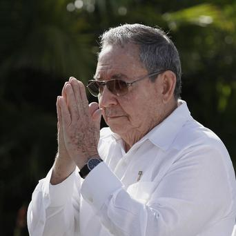 Cuba's president Raul Castro has started a new five-year term (AP/Franklin Reyes)