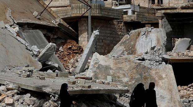 A huge explosion has shaken the city of Damascus, according to residents and Syria's state-run TV (AP)