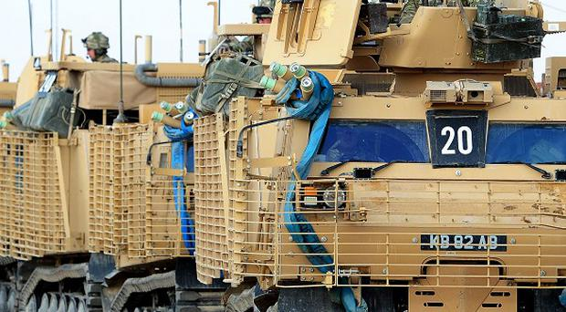 Insurgents have launched a rocket attack on Camp Bastion in Afghanistan