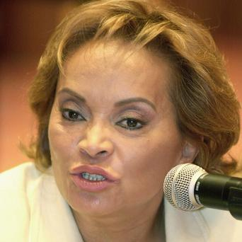 Elba Esther Gordillo, former leader of Mexico's teaching union, is accused of embezzling about 100 million pounds from the organisation (AP)