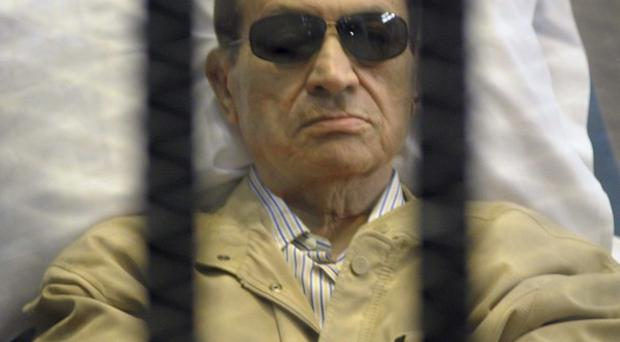 A date has been set for the retrail of former Egypt president Hosni Mubarak (AP)