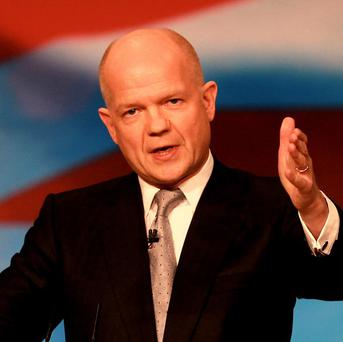William Hague is in Mali where he will meet politicians and military commanders