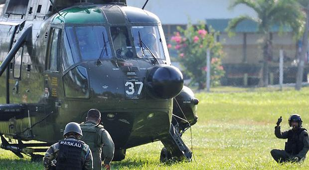 Malaysia insisted it had made every effort to resolve the siege in Sabah province peacefully (AP)