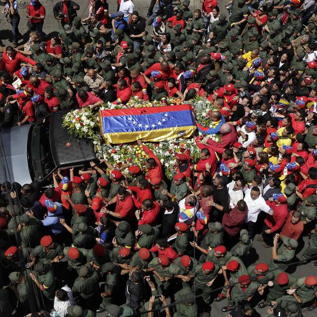 President of Venezuela Hugo Chavez has died aged 58