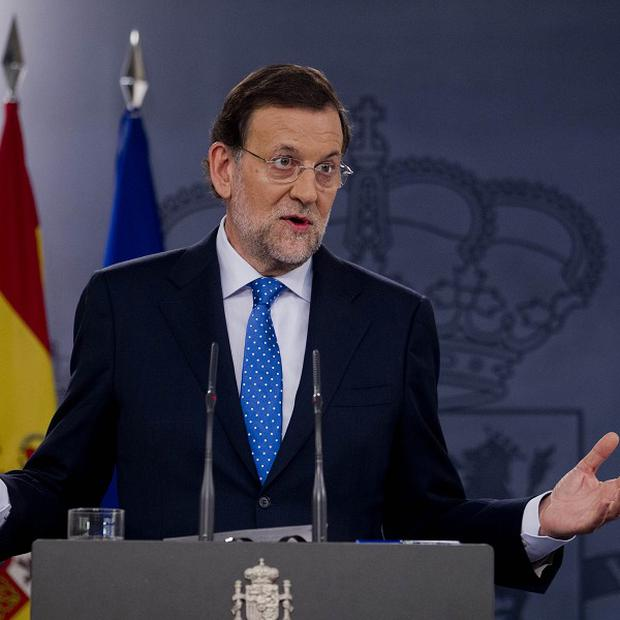 Spain's Prime Minister Mariano Rajoy has been linked to slush fund allegations (AP)