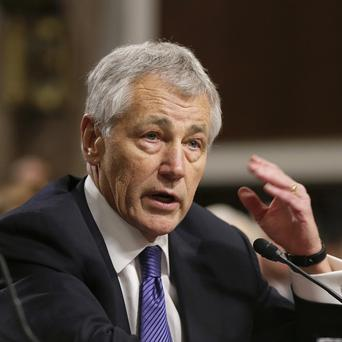 US defence secretary Chuck Hagel is safe after a suicide bombing during his visit to Afghanistan (AP/J Scott Applewhite)