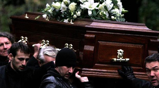 The funeral of Alexander Litvinenko was held in London in December 2006