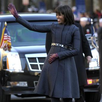 US first lady Michelle Obama has had her private information posted on a website (AP Photo/Susan Walsh, file)