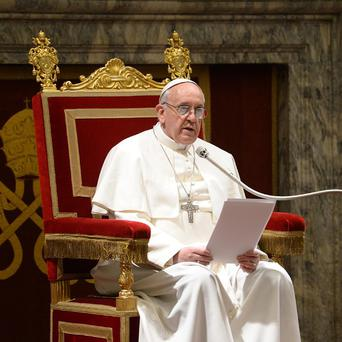 The Vatican has codemned what it says is a campaign to discredit Pope Francis over his actions during Argentina's 'dirty war' (AP/L'Osservatore Romano )