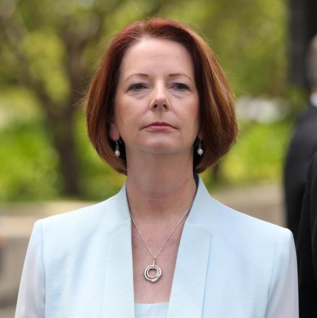 Julia Gillard called for a leadership ballot