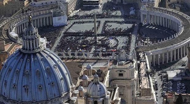 The Vatican says a story about Batman running on one of its websites is legitimate