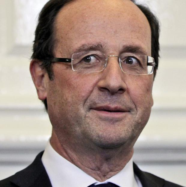 Francois Hollande campaigned on a vow to impose the 75 per cent tax on the wealthy