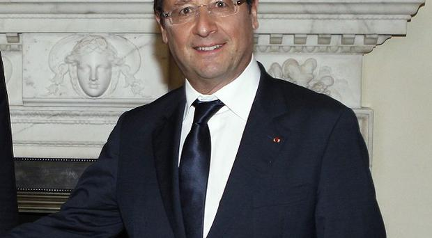 The Office of Francois Hollande said the death of Abou Zeid was 'definitively confirmed'