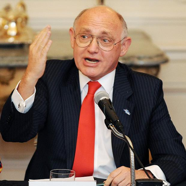 Argentine foreign minister Hector Timerman has claimed that Britain is militarising the South Atlantic