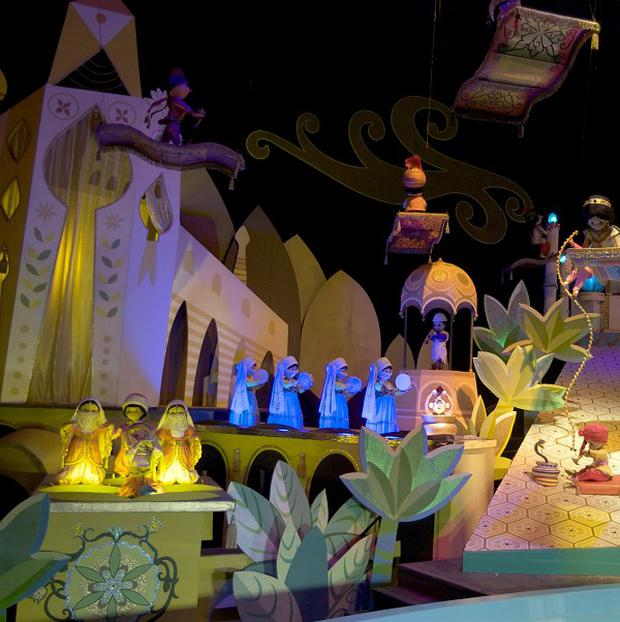 The It's A Small World ride at Disneyland in Anaheim, California (AP)