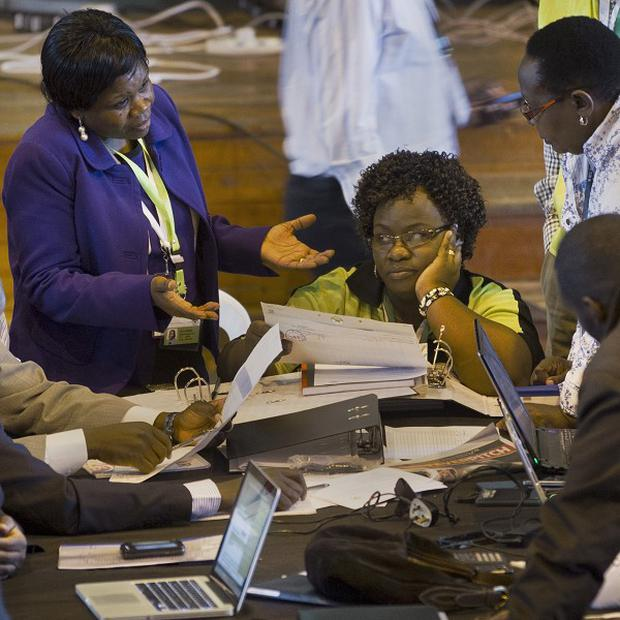 Lawyers for Raila Odinga had claimed the vote was marred by irregularities (AP)