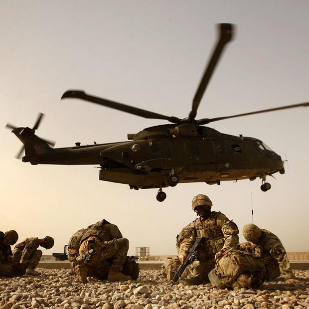 Thousands of tonnes of military equipment is being removed from Afghanistan