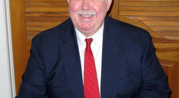 Kaufman County District Attorney Mike McLelland, who was gunned down alongside his wife at home (AP)
