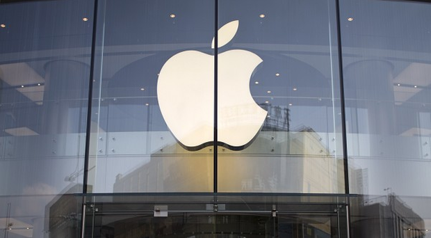 Technology giant Apple saw its profits drop for the first time in a decade