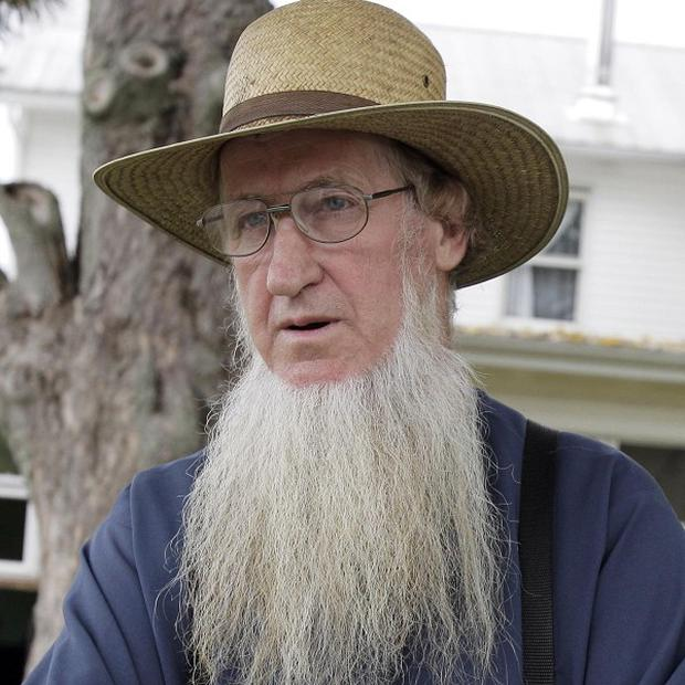 The Amish group's leader, Samuel Mullet Sr, recieved a 15-year prison sentence (AP)
