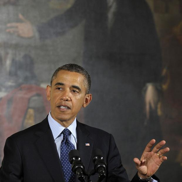 Barack Obama has been criticised for bringing in a heavily male group of advisers for his second term (AP)