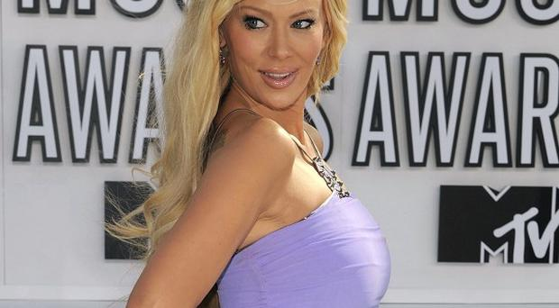 Jenna Jameson has been arrested on suspicion of battery (AP)