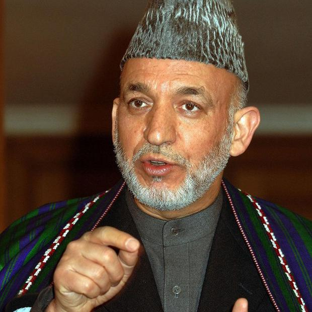 Earlier this year, Afghan president Hamid Karzai banned his troops from requesting coalition airstrikes