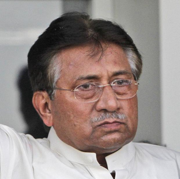 Pervez Musharraf has been ordered to appear before judges in connection with allegations of treason (AP)