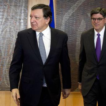 US treasury secretary Jacob Lew has urged European Commission president Jose Manuel Barroso to speed up reforms (AP)