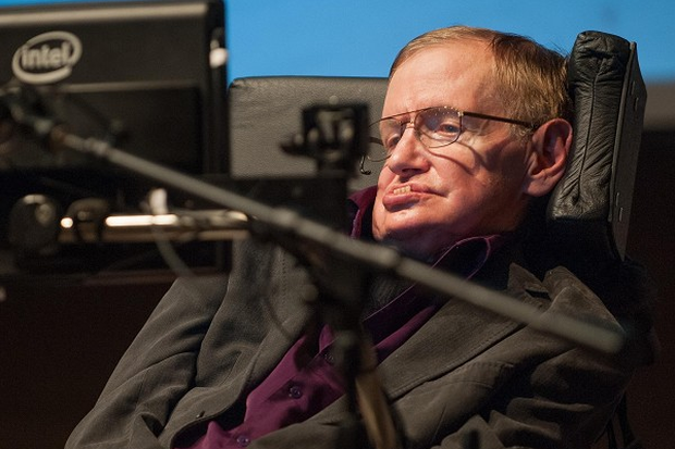 Prof Stephen Hawking made the remarks at Cedars-Sinai Medical Centre in Los Angeles