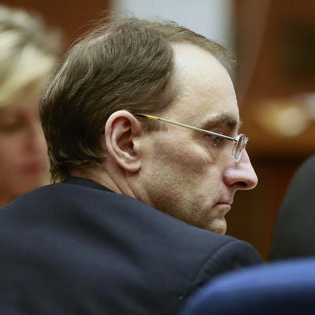 Christian Karl Gerhartsreiter listening during final arguments at his trial (AP)