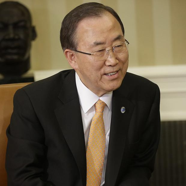 UN Secretary-General Ban Ki-moon said