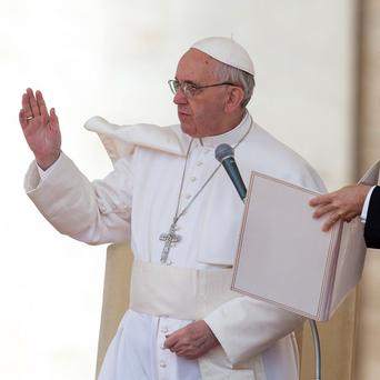 Pope Francis has named nine members of a permanent advisory group to help him run the church (AP)