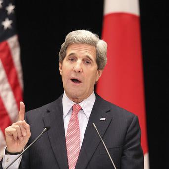US Secretary of State John Kerry has said the Syrian regime has launched two chemical weapons attacks