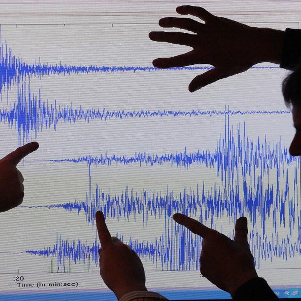 A magnitude-7 earthquake has struck off Japan