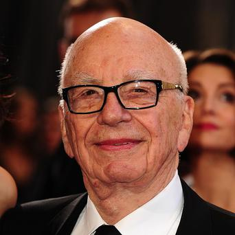 Rupert Murdoch runs News Corp through the 40 per cent of voting shares he controls