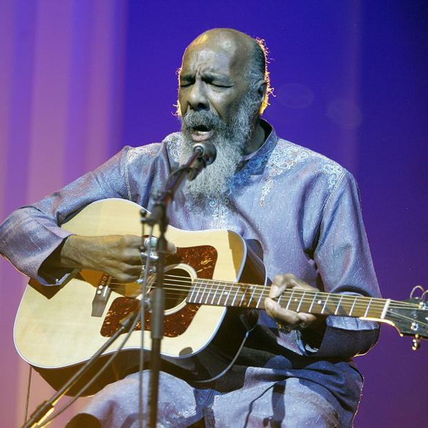 Richie Havens has died aged 72 (AP/Jeff Christensen)