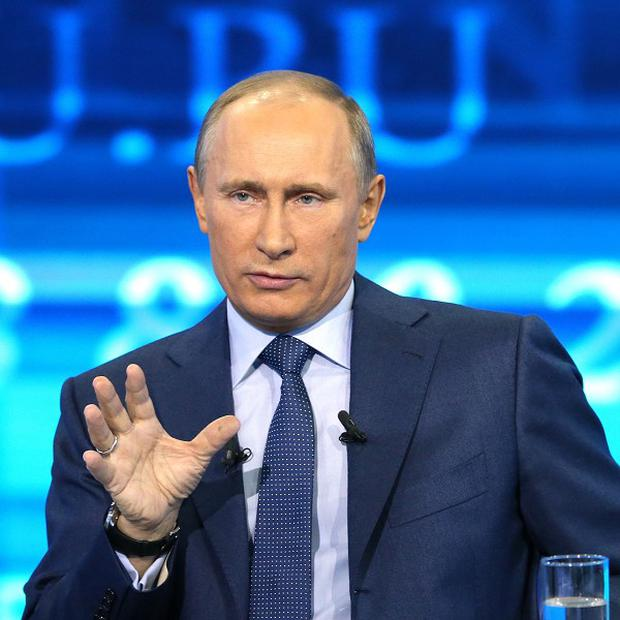 Vladimir Putin says the West was wrong to support militants in Chechnya (AP/RIA Novosti)