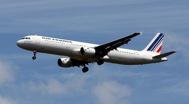 Air FranceKLM said it lost 630 million euro, 531 million pounds, in the January-March quarter